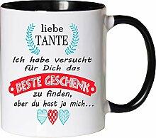 Mister Merchandise Becher Tasse Tante Kaffee
