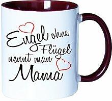 Mister Merchandise Kaffeebecher Tasse Engel ohne