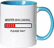 Mister Merchandise Kaffeebecher Tasse Meister 2019
