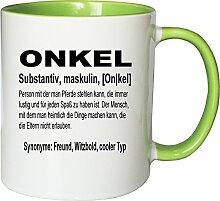 Mister Merchandise Kaffeebecher Tasse Onkel