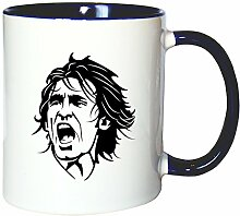 Mister Merchandise Kaffeetasse Becher Andrea Pirlo