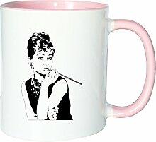 Mister Merchandise Kaffeetasse Becher Audrey
