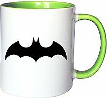 Mister Merchandise Kaffeetasse Becher Batman Bat