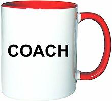 Mister Merchandise Kaffeetasse Becher Coach
