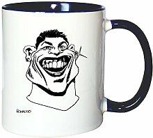 Mister Merchandise Kaffeetasse Becher Cristiano