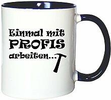 Mister Merchandise Kaffeetasse Becher Einmal mit
