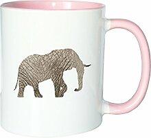 Mister Merchandise Kaffeetasse Becher Elefant