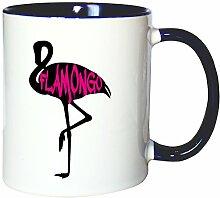 Mister Merchandise Kaffeetasse Becher Flamongo