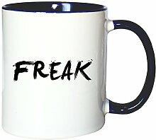 Mister Merchandise Kaffeetasse Becher Freak
