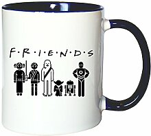 Mister Merchandise Kaffeetasse Becher Friends