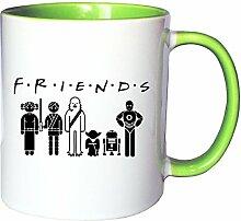 Mister Merchandise Kaffeetasse Becher Friends