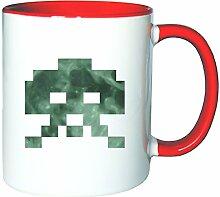 Mister Merchandise Kaffeetasse Becher Invaders