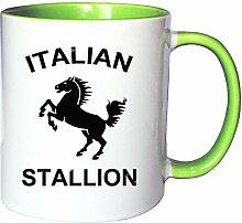 Mister Merchandise Kaffeetasse Becher Italian