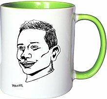 Mister Merchandise Kaffeetasse Becher Julian