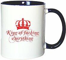 Mister Merchandise Kaffeetasse Becher King of