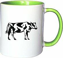 Mister Merchandise Kaffeetasse Becher Kuh Cow