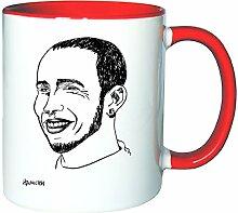 Mister Merchandise Kaffeetasse Becher Lewis