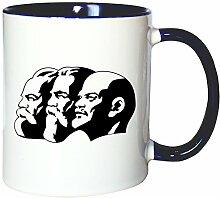 Mister Merchandise Kaffeetasse Becher Marx Engels