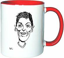 Mister Merchandise Kaffeetasse Becher Mesut Özil