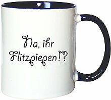 Mister Merchandise Kaffeetasse Becher NA, Ihr