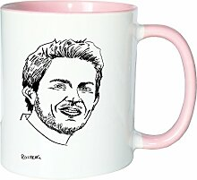 Mister Merchandise Kaffeetasse Becher Nico Rosberg