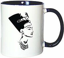 Mister Merchandise Kaffeetasse Becher Nofretete