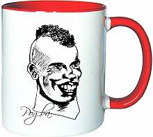 Mister Merchandise Kaffeetasse Becher Paul Pogba