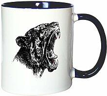 Mister Merchandise Kaffeetasse Becher Puma Panther