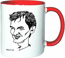 Mister Merchandise Kaffeetasse Becher Quentin