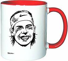 Mister Merchandise Kaffeetasse Becher Rafael Nadal