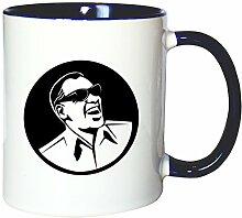 Mister Merchandise Kaffeetasse Becher Ray Charles