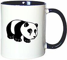 Mister Merchandise Kaffeetasse Becher Sad Panda