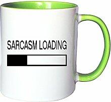 Mister Merchandise Kaffeetasse Becher Sarcasm