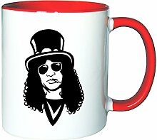 Mister Merchandise Kaffeetasse Becher Slash