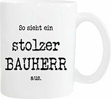 Mister Merchandise Kaffeetasse Becher So Sieht EIN