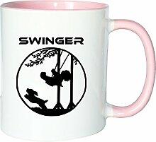 Mister Merchandise Kaffeetasse Becher Swinger