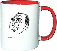 Mister Merchandise Kaffeetasse Becher Uli Hoeneß