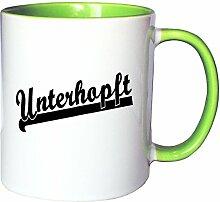 Mister Merchandise Kaffeetasse Becher Unterhopft