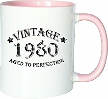Mister Merchandise Kaffeetasse Becher Vintage 1980