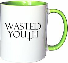 Mister Merchandise Kaffeetasse Becher Wasted Youth