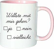 Mister Merchandise Kaffeetasse Becher Willste mit