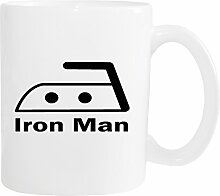 Mister Merchandise Kaffeetasse Iron Man Bügeln