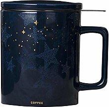 mit Deckel mit Teesieb Becher Tasse Kaffeetasse