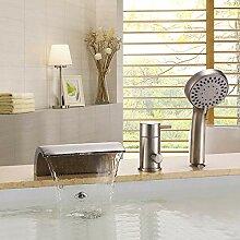 Mit Dusche Dreiteilige Badezimmer Dusche Heißen