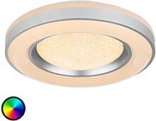 Mit Fernbedienung steuerbare LED-Deckenlampe Colla