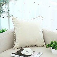 Mit Haarball Wohnzimmer Bett Kissen Quadratischen
