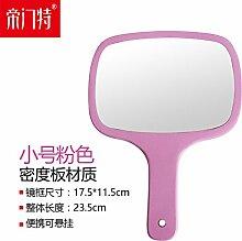 mit holzgriff Spiegel, tragbare kosmetikspiegel,b