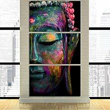 Mit Rahmen große Poster HD gedruckte Malerei