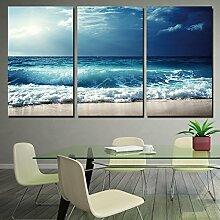 Mit Rahmen Leinwand Gemälde Wohnzimmer modulare