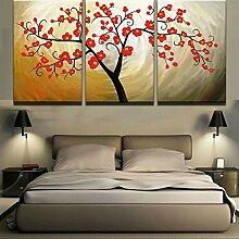 Mit Rahmen Malerei Poster Wall Art Rahmen 3 Stück